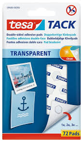 tack transpa double sided adhesive