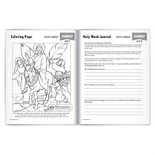 Color holy week coloring page yourself and with your kids. Lenten Adventure Activity Book 2 Holy Week To Divine Mercy Sunday