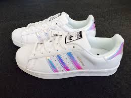 adidas 6 5. adidas originals superstar women\u0027s trainers iridescent uk size 3.5 4 4.5 5 5.5 6 i