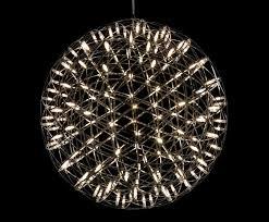 Mooois Raimond Chandelier Bursts with Dozens of Tiny LED Lights