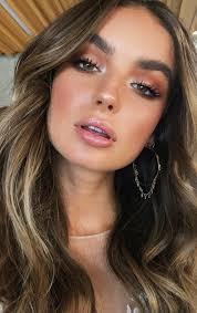 natural glow makeup ideas brunette bage hair brown eyes makeup trends makeup trends