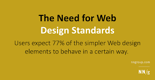 Design Need The Need For Web Design Standards