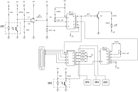 control circuit for controlling dc servomotor adjustment and feedback control of motor sd for an