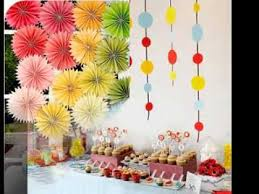 Diy kids party decorations ideas
