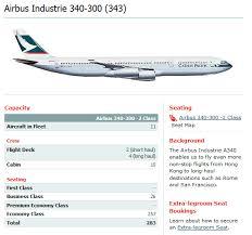 Philippine Airlines Seat Map Seatguru Airbus A340 300 343 V2