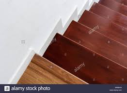 Floor Steps Design Hardwood Stair Steps And White Wall Interior Stairs