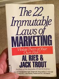 22 Immutable Laws Of Marketing 22 Immutable Laws Of Marketing Summary Of Book