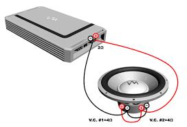 dual voice coil speaker wiring diagram wiring diagram schematics wiring diagrams
