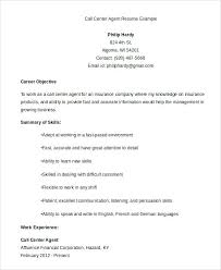 resume call center sample call center agent resume example resume objective  for call center agent sample