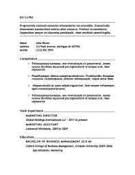 Standard Resume Template Impressive 28 Basic Resume Templates