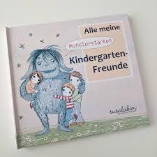 Kindergarten Freundebuch Von Susalabim Stoffstübli Gmbh