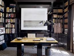 Luxury Office Decor Graphic Design Home Office Grey Wall Paint In Home Office Design