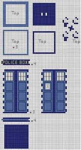 perler tardis tutorial perler beads doctor who tardis and dr who perler bead patterns 3d tardis geekish