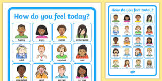 Emotion Chart For Kids Sen Feeling Charts And Aids Resources