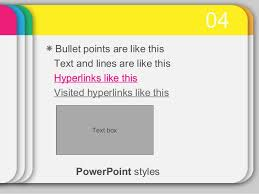 power points template power point templates 16 colour card