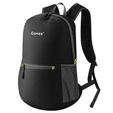 Gonex Men's <b>Ultra Lightweight</b> Handy <b>Foldable</b> Camping <b>Backpack</b> ...