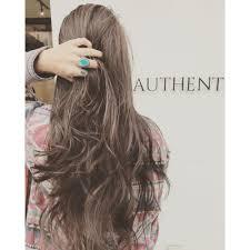 ロングレイヤーサーフガールスタイル Hair Authenticヘアー