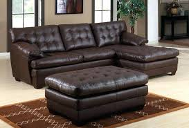 leather couch with chaise extraordinary leather sectional sofa chaise cream with bonded black sectionals leather sectional