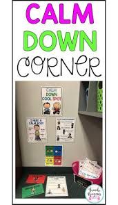 Preschool Classroom Design Tool Calm Down Tool Kit Calm Down Corner Classroom Behavior