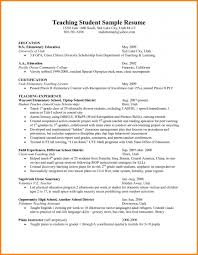 Teaching Resume Resumes Student Objective Experience Pdf Assistant