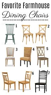 farmhouse dining chairs for a new dining space