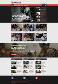 Game Portal Responsive Drupal Template 53753
