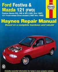 ford festiva 1991 1997 mazda 121 haynes repair manual