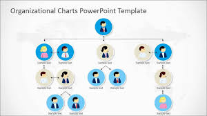 018 Organizational Chart Template Powerpoint Free Slide With