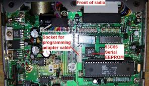 programming the maxon sm 4150m or the ge monogram mobile radios pix maxon pcb jpg