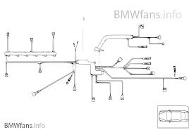 engine wiring harness engine module bmw 5 e60 535d m57n europe engine wiring harness engine module