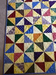 scrappy half square triangle quilt & Attached Images Adamdwight.com