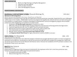 Loss Prevention Specialist Sample Resume