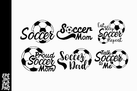 Browse our football laces collection with filter setting like size, type, color etc. 6 Design Soccer Svg Bundle Graphic By Arsa Adjie Creative Fabrica Svg Soccer Dad Soccer