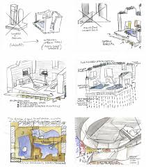 rough architectural sketches. Exellent Rough Steven Holl Architects Sliced Porosity Block Drawing For Rough Architectural Sketches I