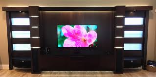 Entertainment Center Home Theater Units Wall Units TV Cabinets