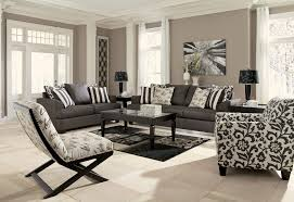 Set Of Chairs For Living Room Buy Levon Charcoal Living Room Set By Signature Design From Www