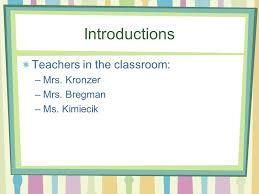 Important Contact Information School Website Teacher Webpage