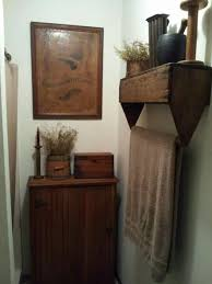 Primitive Wall Cabinets Bathroom Country Primitive Bathroom Decor Primitive Bathroom