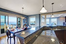 Kitchen And Granite Luxury Kitchen With Dark Brown Cabinets And Granite Top Kitchen