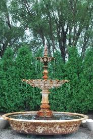 beautiful old italian fountain