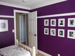 Awesome Purple Room Paint Pictures - Best idea home design .