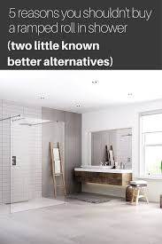 Ramped roll in shower alternatives, wet rooms, solid surface ...