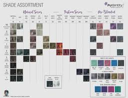 Guy Tang Color Chart Mydentity Hair Color Chart In 2019 Hair Color Hair Color