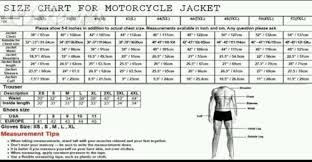 Bmw Motorcycle Clothing Size Chart Ducati Sizing Chart