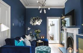 grey and navy living room ideas