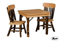 in style furniture. Kids Rustic Table Set In Style Furniture
