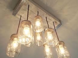 romantic edison bulb chandelier sparkle your room the cottage mason jar edison bulb chandelier for
