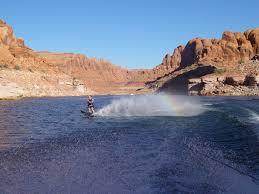 a waterskier