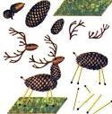 Поделка из еловых шишек картинки