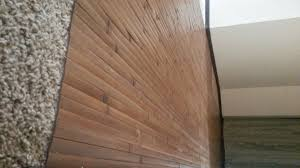 8 x 4 bamboo wall panels make great flooring over carpet